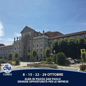 Immagine: Alba - Piazza San Paolo Fiera 2017